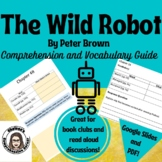 The Wild Robot by Peter Brown Comprehension Questions and