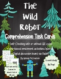 The Wild Robot Comprehension Task Cards - with or without