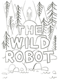 The Wild Robot Cover Coloring Page