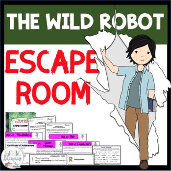 The Wild Robot ESCAPE ROOM Activity