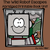 The Wild Robot Escapes Abridged Novel Study: vocabulary, c