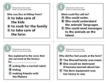 The Wild Robot Escapes Task Cards