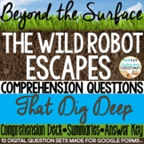 The Wild Robot Escapes by Peter Brown: Critical Thinking Questions