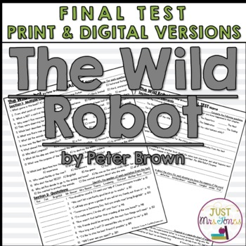 The Wild Robot Final Test