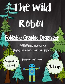The Wild Robot Foldable Graphic Organizer Book Project
