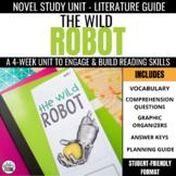 The Wild Robot Novel Study Unit
