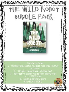 The Wild Robot GIANT BUNDLE PACK