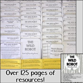 The Wild Robot Literature Pack
