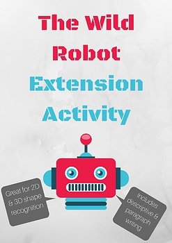 The Wild Robot - Math & Writing Extension Activities