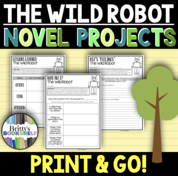 The Wild Robot - Novel Projects