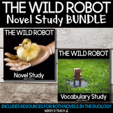 The Wild Robot Novel Study and Vocabulary Study BUNDLE