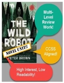 The Wild Robot Novel Unit