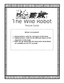 The Wild Robot Picture Cards