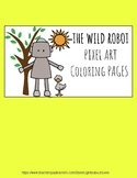 The Wild Robot : Pixel Art Coloring Pages