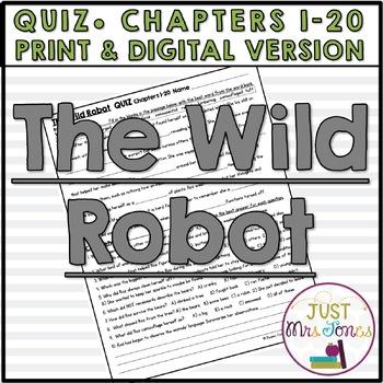 The Wild Robot Quiz 1 (Ch. 1-20)