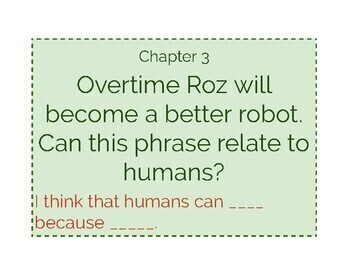 The Wild Robot Read Aloud Discussion Question Posters