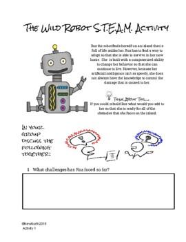 The Wild Robot S.T.E.A.M Activity