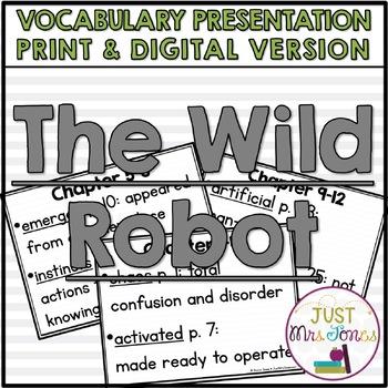The Wild Robot Vocabulary Presentation