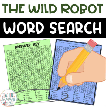 The Wild Robot Word Search