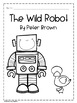 The Wild Robot by Peter Brown Novel Packet