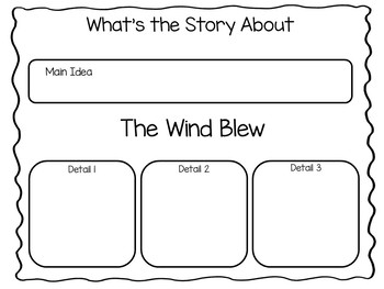 The Wind Blew ~ 26 pages of Common Core Activities