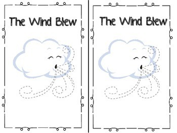 The Wind Blew Emergent Reader & Centers