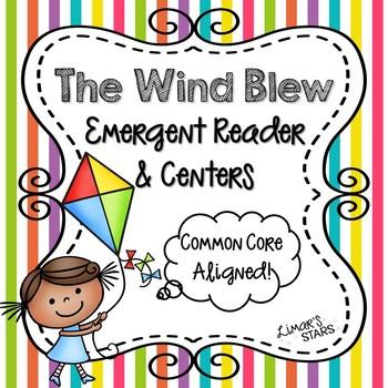 The Wind Blew Emergent Reader & Centers