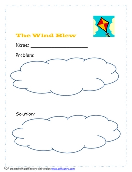 The Wind Blew Reading Comprehension Through the Year
