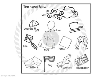 The Wind Blew Sequencing and Retelling Necklace