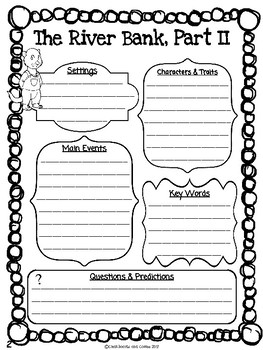 The Wind in the Willows CKLA Note Taking Journal FREEBIE