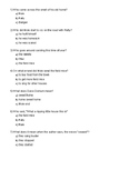 The Wind in the Willows Ch. 5 Quiz