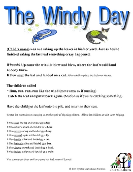 The Windy Day--Poem