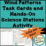 Coriolis Effect and Wind Patterns Task Cards and Hands On Stations Activity