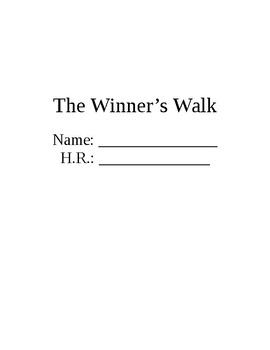 The Winner's Walk Skills-Based Questions Packet