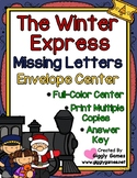 The Winter Express Missing Letters Envelope Center