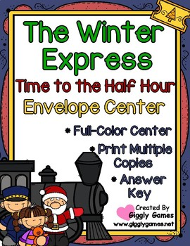 The Winter Express Time to the Half Hour Envelope Center