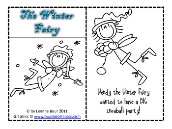 The Winter Fairy:  A Mini-Book and Activities