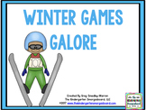 Winter Games Galore: Math and Literacy Centers