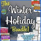 Winter Holiday Bundle: Christmas, Hanukkah, Kwanzaa, & the New Year! 4 in1!