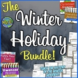 Winter Holiday Bundle: Christmas, Hanukkah, Kwanzaa, & the New Year! 4 in1!