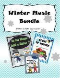 Winter Music Bundle - Meter, Music Symbols