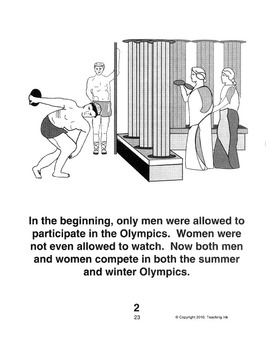 The Winter Olympics (Grades K-3) by Teaching Ink
