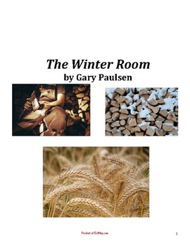 The Winter Room by Paulsen Novel Pack: All Chapter Questions with Key
