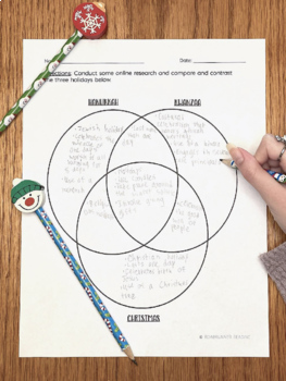 The Winter Solstice Close Reading Vocabulary and Comprehension Activities