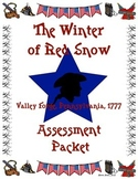 The Winter of Red Snow Assessment Packet