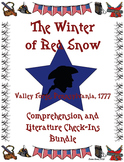 The Winter of Red Snow Comprehension and Literature Check-