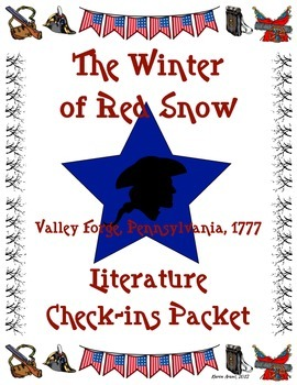 The Winter of Red Snow Literature Check-Ins Packet