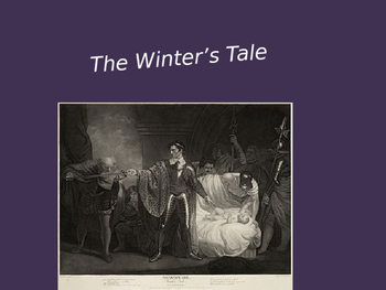 The Winter's Tale Power Point