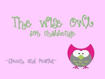 The Wise Owl-Dot Challenge