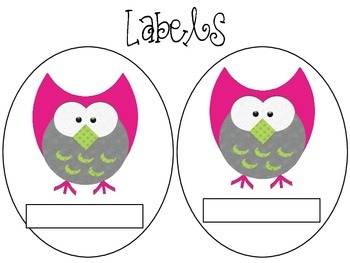 The Wise Owl-Labels